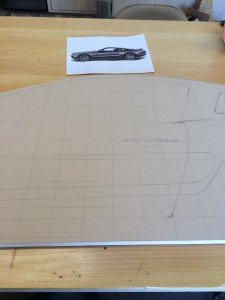 Car Sideboard Layout Begins