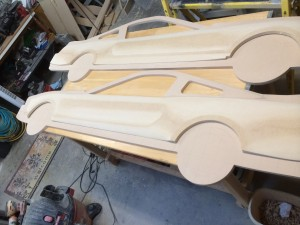 Car Sideboard Cut and Sanding Complete