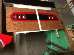 Headboard Tail lights